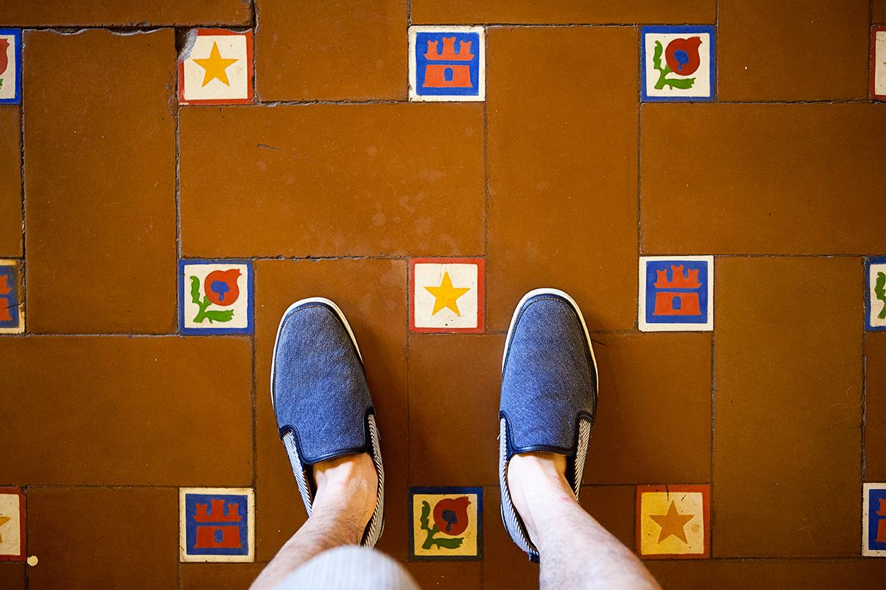 Hotel Nacional de Cuba tiles