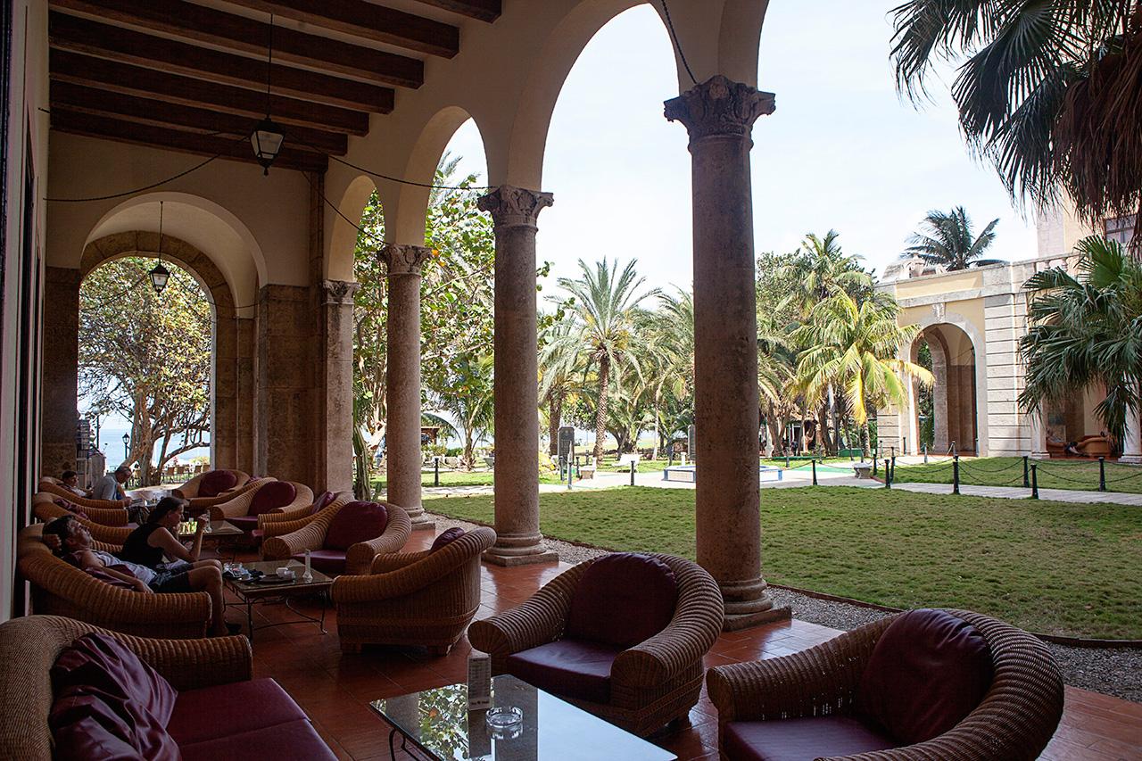 Hotel Nacional de Cuba —lounge