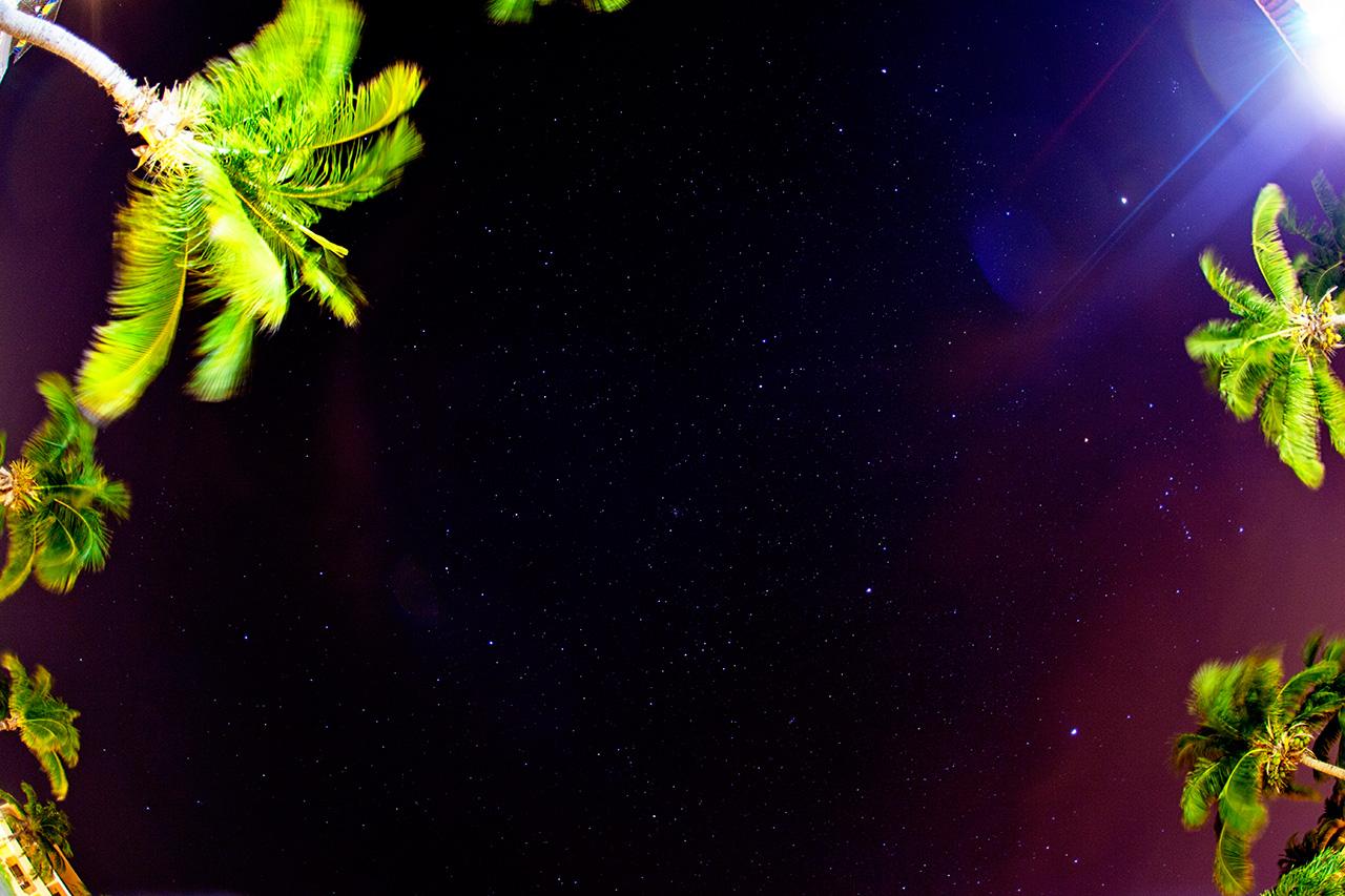 starry sky in Cuba