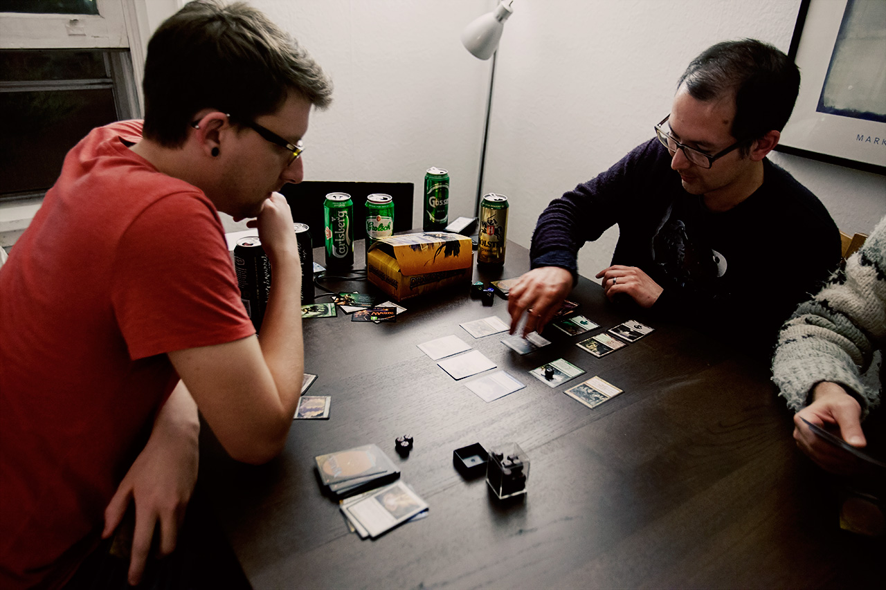 Magic: The Gathering and beer