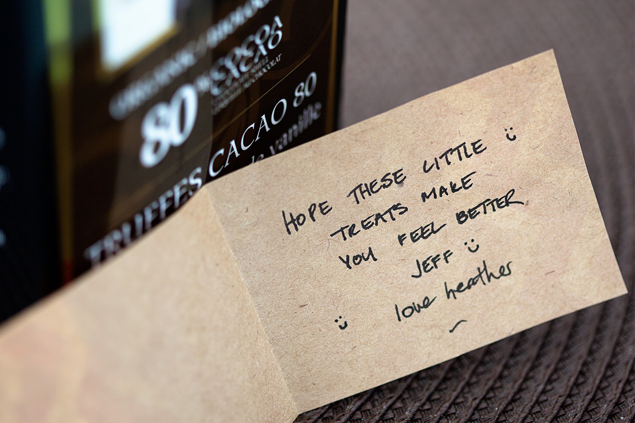 thoughtful note