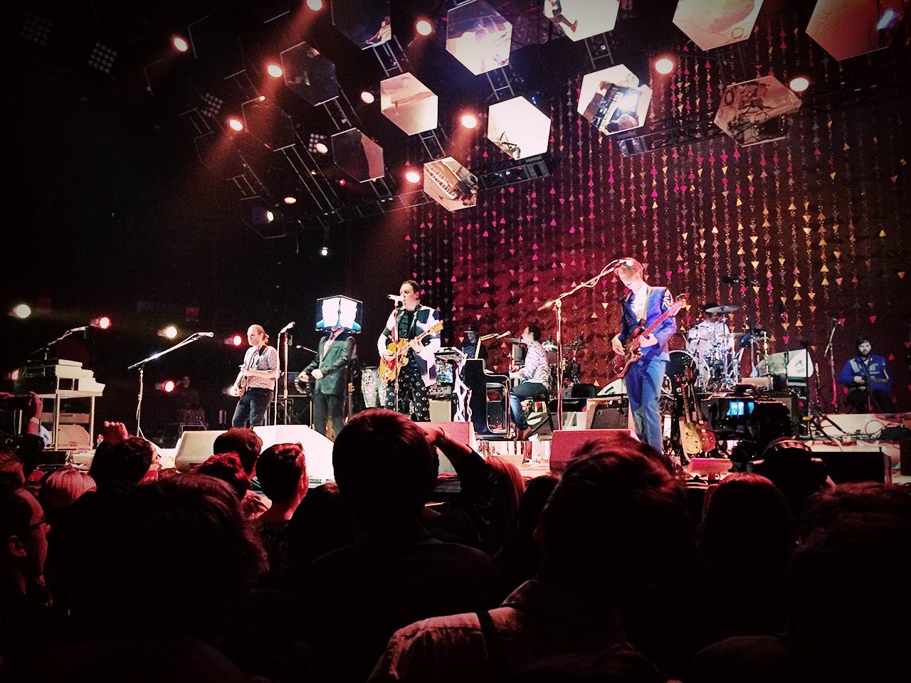Arcade Fire — Reflektor tour