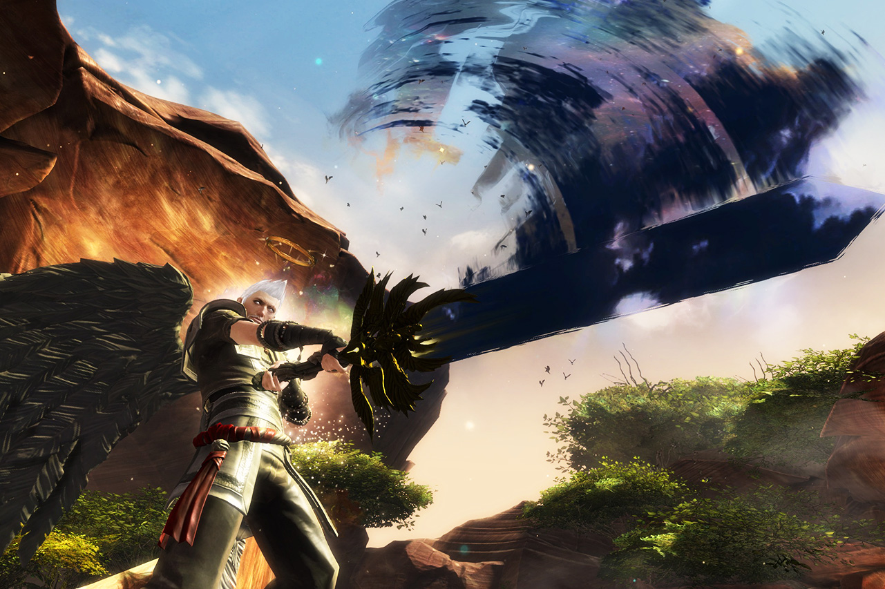 Guild Wars 2 character with Eternity