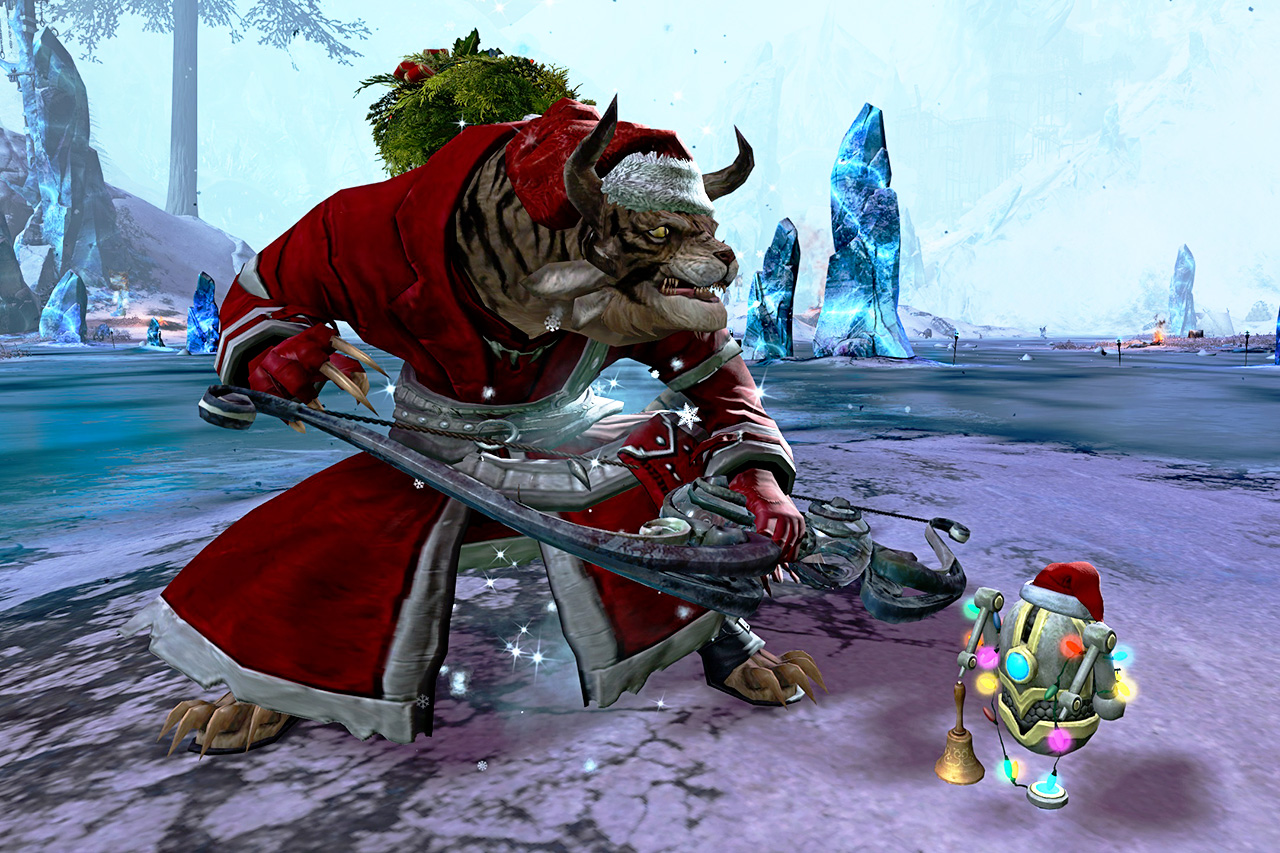 Cat at Wintersday
